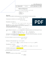 Corrección primer parcial de Cálculo III, lunes 30 de septiembre de 2019, tarde