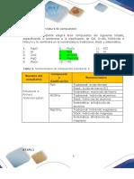 Etapa 1 Nomenclatura de compuestos