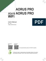 Aorus x570 I WiFi manual