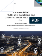 Vmware Multi Site Solutions Cross Vcenter Nsx Design Guide
