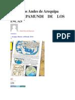 Mapamundi de Los Incas