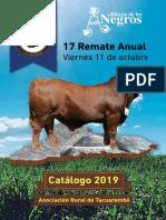Catálogo Rincón de Los Negros
