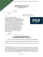 Ficken v Dunedin, 8-19-cv-1210 (30 Sep 2019) Doc 25, DEFENDANTS' MOTION TO STRIKE AND INCORPORATED MEMORANDUM OF LAW
