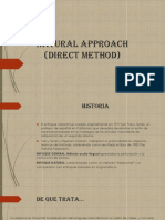 Natural Approach Direct Method