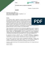 Carta Multiple 001-2019 - EMPRESAS