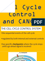 Lesson 7 Cell Cycle Control and Cancer