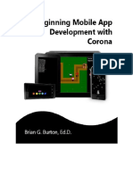 Beginning Mobile App Development With Corona