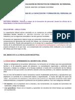 Seminario de Gestión y Evaluación de Proyectos de Formación de Personal