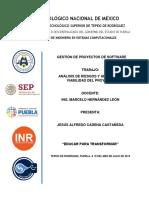 Cadena Castañeda Jesús Alfredo  T2&T3 Análisis de Riesgos Y Viabilidad Financiera