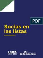 SOCIAS EN BOCA