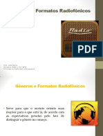 Formatos Radiofônicos