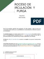 Recirculación y Purga