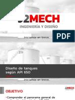 Webinar Diseño de Tanques API 650 3