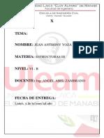 Caratula de Estructuras III