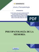 psicologia de la memoria