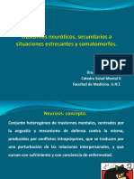 Trastornos Neuróticos Secundarios Situaciones Estresantes y Somatomorfos - Dra Hansen 2016