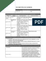 Anexo 5 - Plan de Gestión de Cambios