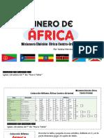 Billetes Paises Division Africana Centro-Oriental