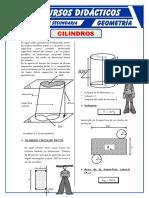 Ejercicios de Cilindros Para Quinto de Secundaria (1)
