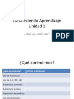 FORTALECERAPRENDIZAJES Sustantivos- Mayuscula- Uso r y Rr
