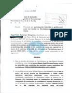 Demanda contra el alcalde de Floridablanca, Héctor Mantilla, por presunta participación en política