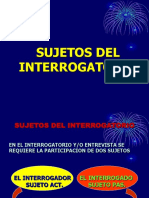2 Sujetos Del Interrogatorio