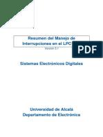 Resumen Interrupciones LPC1768
