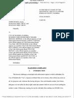 Ficken v Dunedin, 8-19-cv-1210 (17 May 2019) Doc 1-1, STATE COMPLAINT