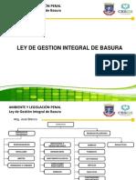 Presentacion Ley de Gestion Integral de La Basura