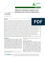 Peroxisome proliferator-activated receptors and their ligands