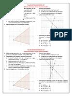 Act y Eva Preconceptos Geometría Analítica