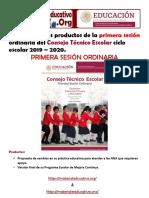FormatosProductos1eraSesionOrdinaria19-20MXMP