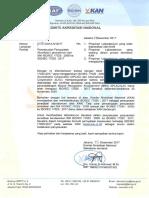 1. Surat Sekjen Penyesuaian ISO 17025 2017