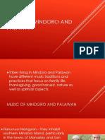 Mindoro and Palawan