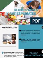 Antiaglomerantes y Antiespumates