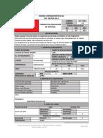 Formato de Requisicion de Eprsonal
