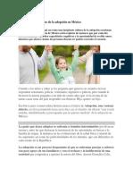 El Complicado Camino de La Adopción en México