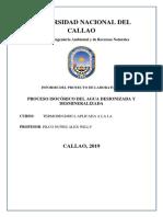 Proceso Isocórico Del Aguatermo