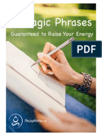Three Magic Phrases Worksheet