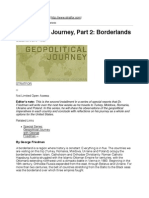 Geopolitical Journey, Part 2_ Borderlands