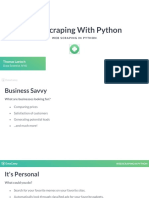 Web Scraping Python - Chapter 1