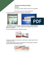 Clasificación de Los Materiales de Impresión