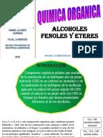 Alcoholes, Fenoles y Eteres