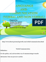 31989165 Comparison Verbal and Non Verbal