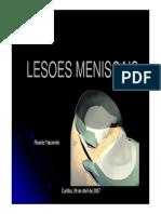 Lesões Meniscais