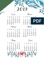 5 Calendario 2019- 1