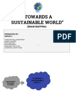 Towards a Sustainable World