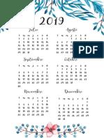 6 Calendario 2019-2