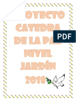 Proyecto Catedra de La Paz Nivel Jardín