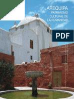 Libro AREQUIPA Patrimonio Cultural de La Humanidad Texto
